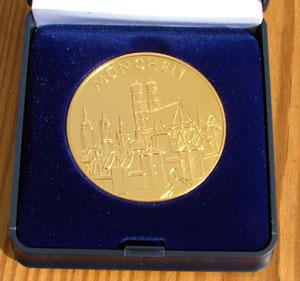 Medaille Briefmarkentage München