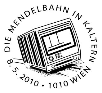 Ersttagsstempel Mendelbahn