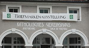 Briefmarkenausstellung Vereinshaus Kaltern
