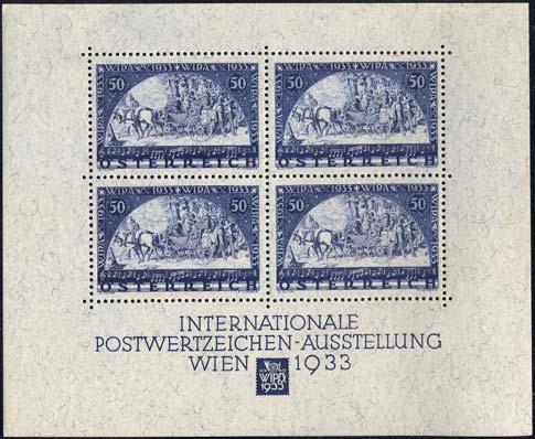 WIPA Block aus der Sammlung Silvius Magnago