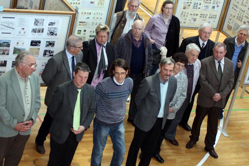 Eröffnung der Briefmarkenausstellung Überetsch 2012 in Eppan