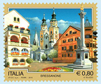 Briefmarke Brixen
