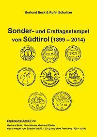Buch Sonderstempel und Erstagsstempel Südtirol