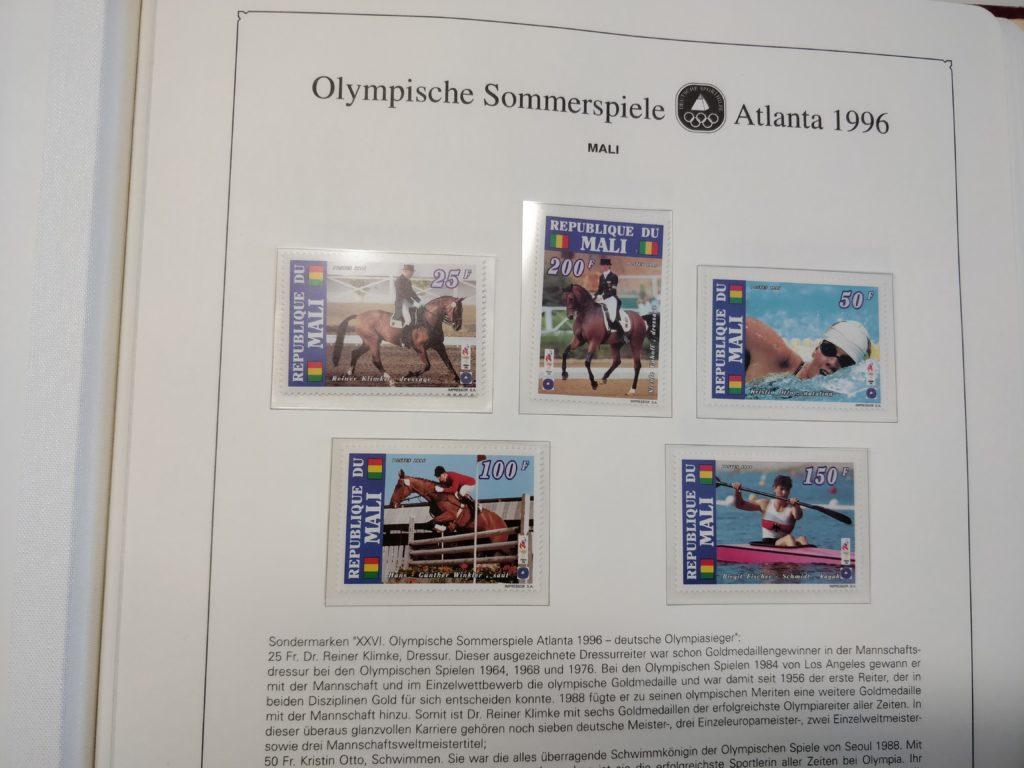 Abosammlung Olympische Spiele