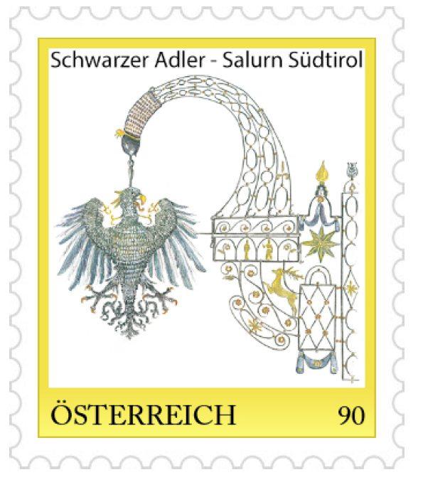 Schwarzer Adler Salurn